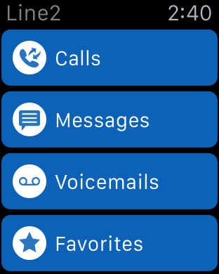 Line2 - A new phone line with calling, texting, and business features. iPhone Screenshot 6