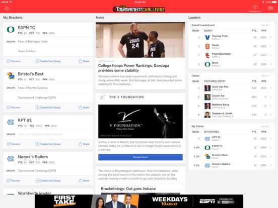 ESPN Bracket Bound 2011 iPad Screenshot 4