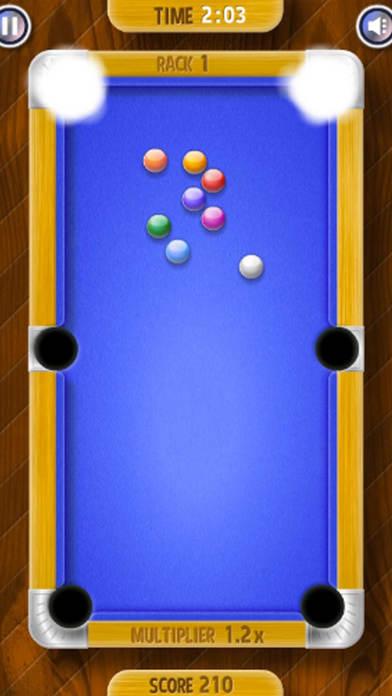 Screenshot 2 欢乐单机台球 — 经典台球单机游戏