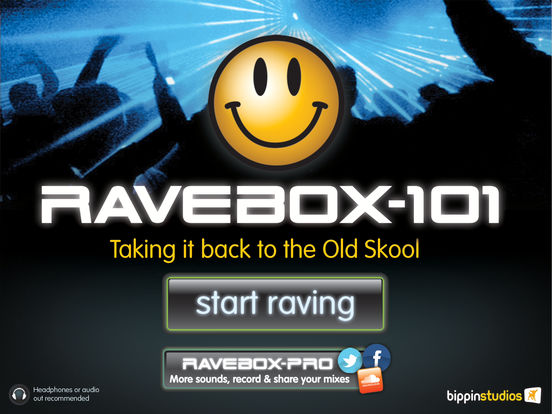 Ravebox iPad Screenshot 1