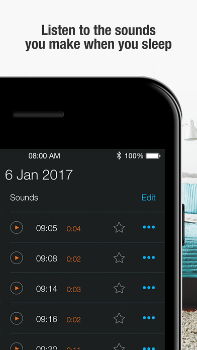 Smart Alarm Clock : sleep cycle & snoring recorder screenshot 3