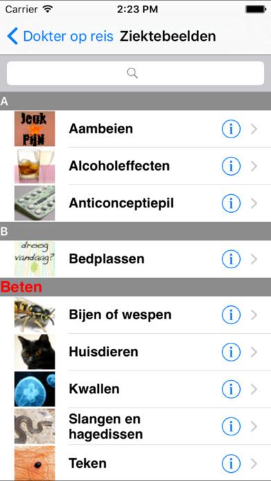 Dokter op reis iPhone Screenshot 1