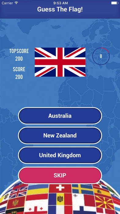 Guess The Flag Quiz - General Knowledge screenshot 3