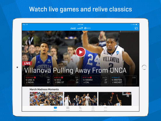 Screenshot #1 for NCAA March Madness Live - Men's College Basketball