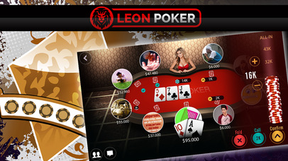 Screenshot 2 Leon Poker