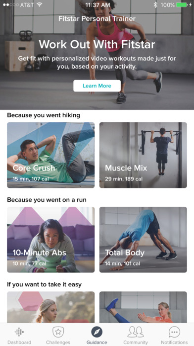 Screenshot for Fitbit in United States App Store