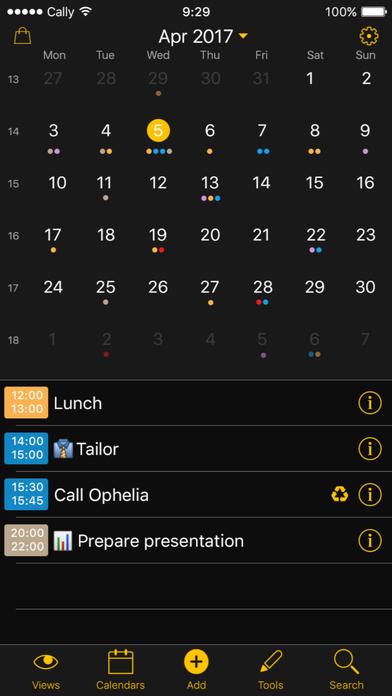 Week Calendar 앱스토어 스크린샷