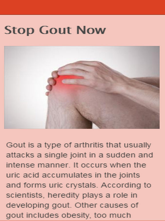 How To Treat The Gout Naturally