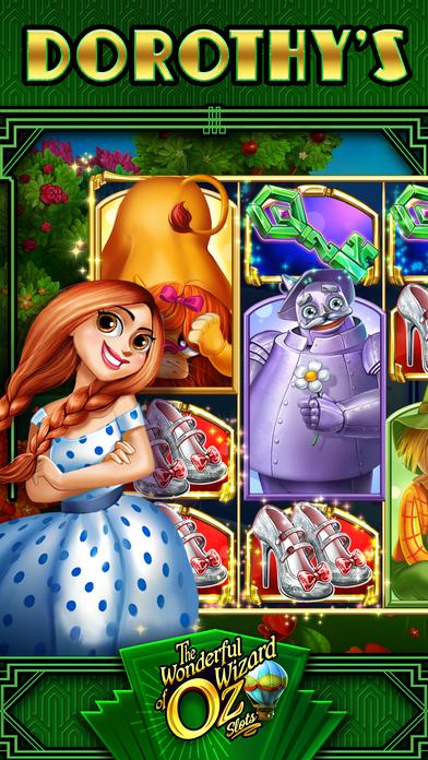 Screenshot 1 Wonderful Wizard of Oz Slots