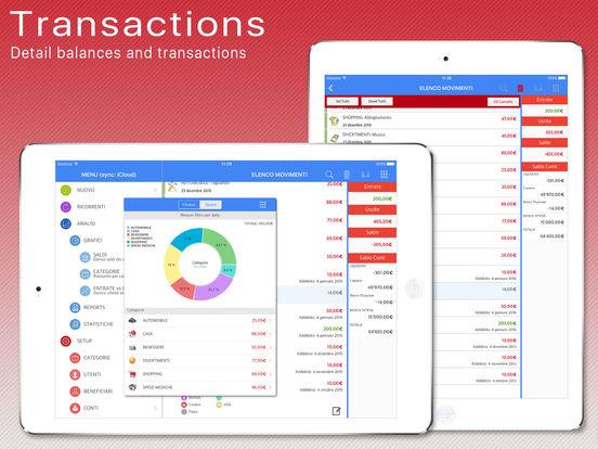 ELDORADO - Income/outgoing balances Screenshots