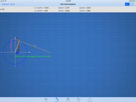 Trigonomics iPad Screenshot 1