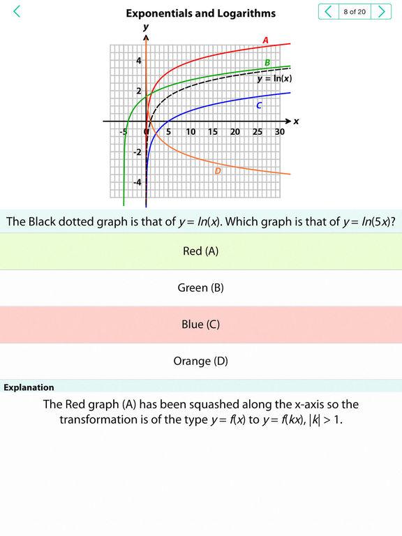 App Shopper A Level Maths Revision Ocr Lite Education