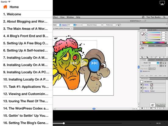 WordPress 101 iPad Screenshot 2