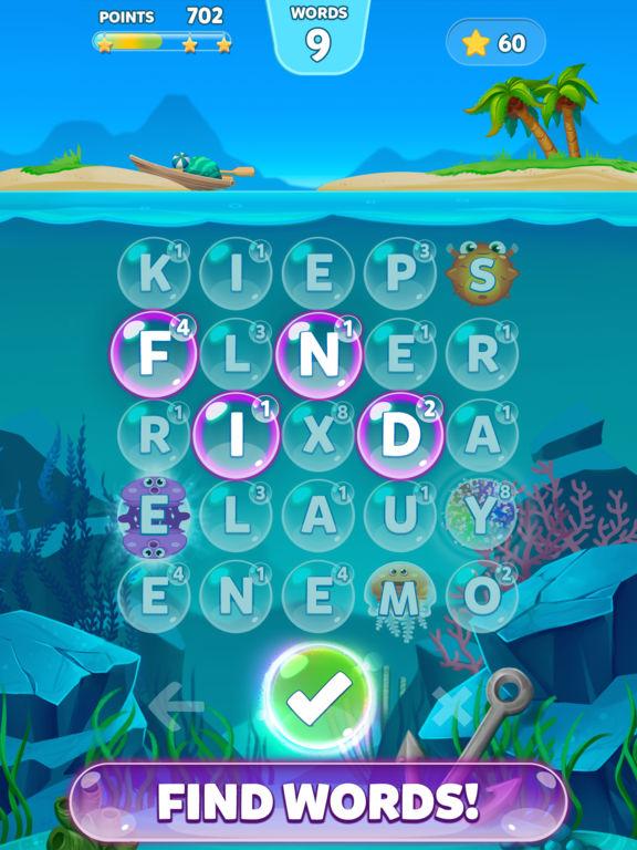 Bubble Words - Letter Splash на iPad