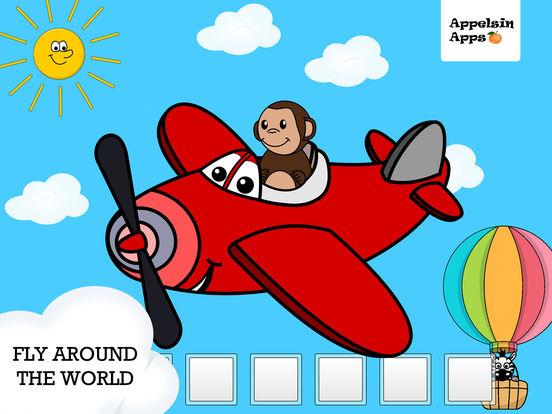 Monkey Moe World Traveler - Geography kids apps на iPad