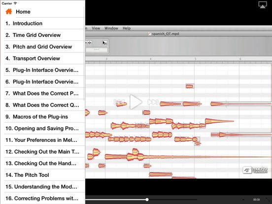 MPV's Melodyne 101 Tutorials iPad Screenshot 2