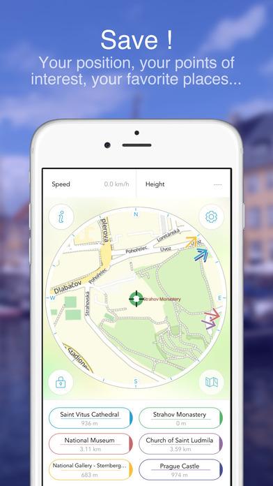 Prague on Foot : Offline Map Screenshots