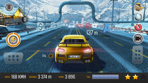 Road Racing: Highway Traffic Driving 3D Screenshot