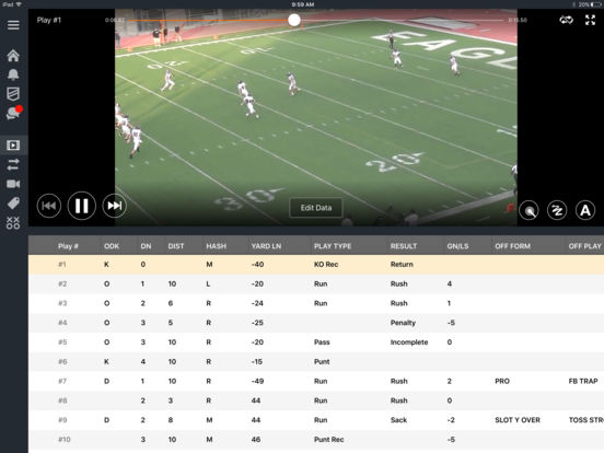 Hudl screenshot 6