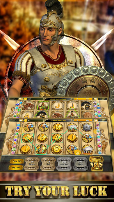 Screenshot 2 Ancient Roman Slot Casino Deluxe