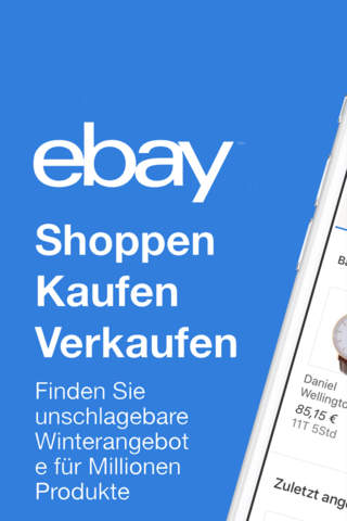 eBay: Buy & Sell - Find Deals screenshot 1
