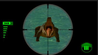 Wild Crocodile Sniper Hunter Simulator 2017 screenshot 1