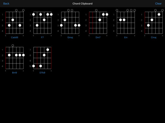 Guitar Chords iPad Screenshot 2