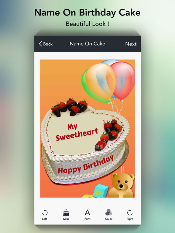 App Shopper: Name on Cake - Birthday Cakes (Photography)