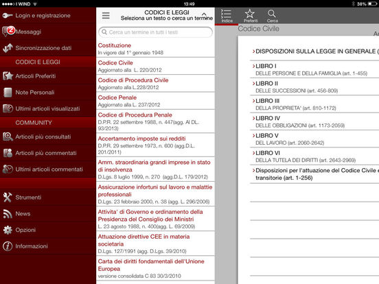 Penale iPad Screenshot 3
