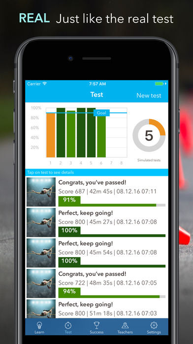 iTheory Pro – the fast and sure-fire way to get your driving license! iPhone Screenshot 2