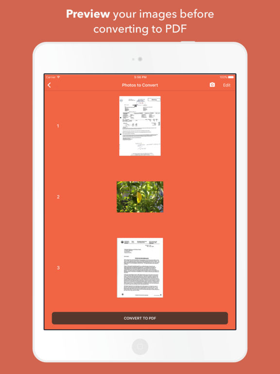 picture to pdf converter app