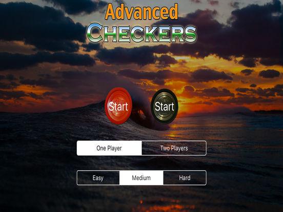 Advanced Checkers iPad Screenshot 3