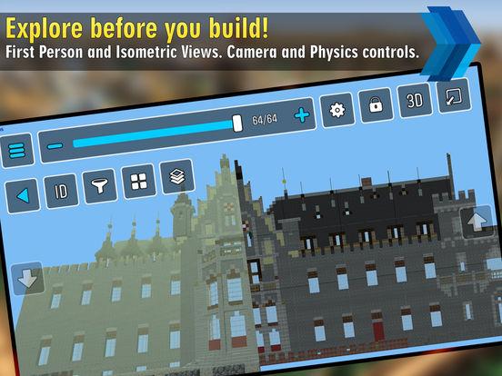 App shopper mcproapp blueprints maps and guides for for Minecraft blueprint maker app