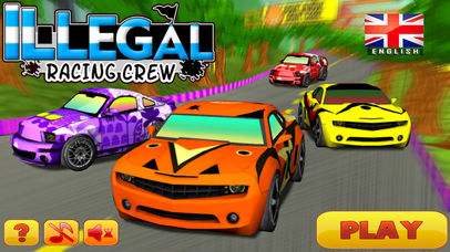 Illegal Racing Crew - Fun Racing Games For Kids screenshot 3