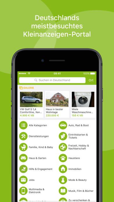Ebay kleinanzeigen free easy local app report on for Ohrensessel ebay kleinanzeigen