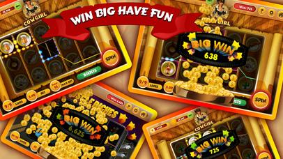 Screenshot 2 Hot CowGirl Slots — Classic Vegas Slot Machines