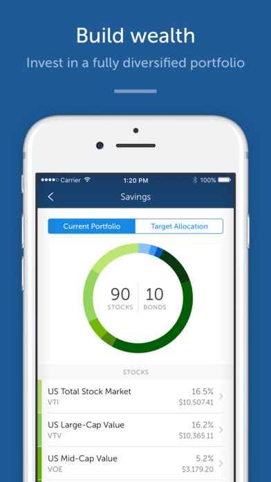 Betterment iPhone Screenshot 2