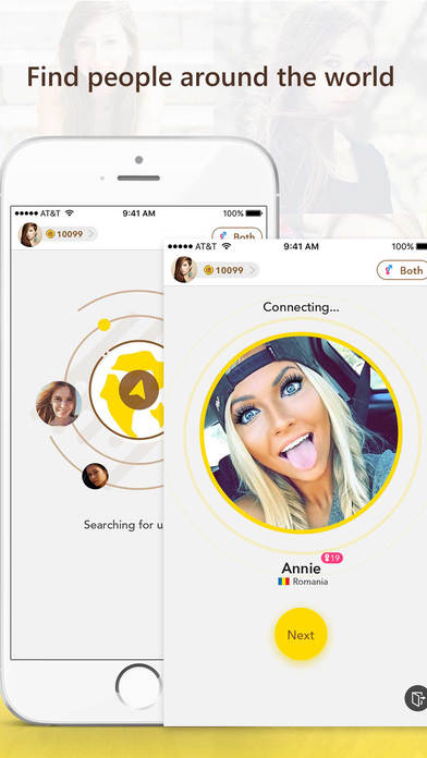 Live Chat - Meet new people & Video Chat,Messenger app image