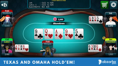 Screenshot 1 Poker Live Omaha & Texas