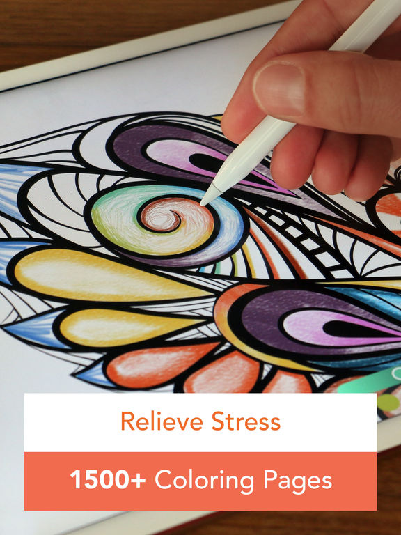 Pigment - Coloring Book for Adults screenshot 6