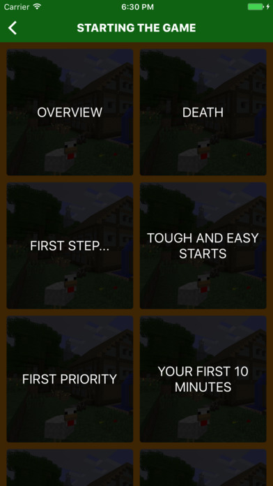 Ultimate Beginners Guide for Minecraft iPhone Screenshot 3