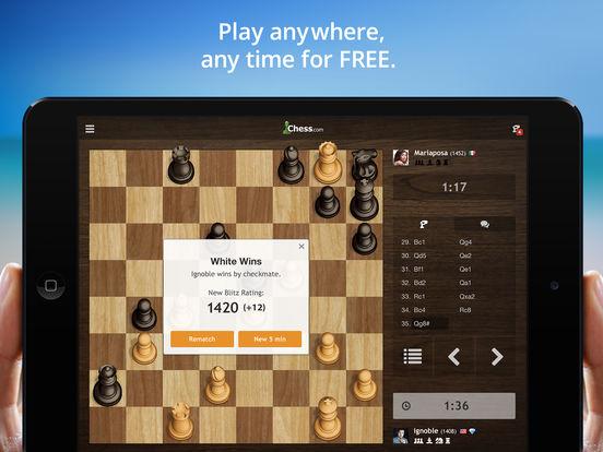 Chess.com - Play & Study Chess iPad Screenshot 5