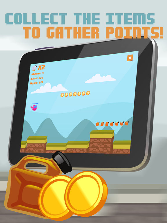 Color Copter Flight Race Pro screenshot 4