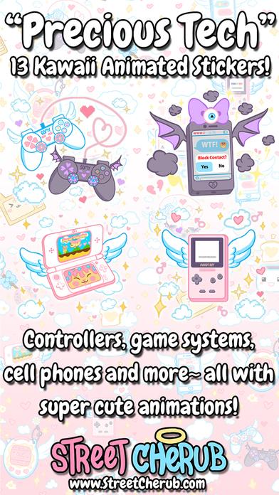Precious Tech- Kawaii Animated Stickers screenshot 1