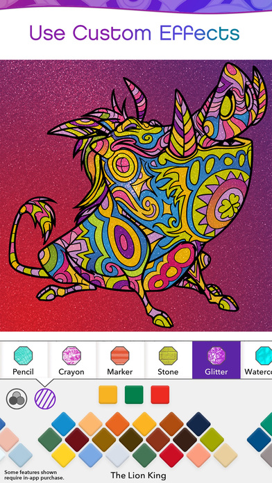 Color by Disney Apps free for iPhone/iPad screenshot