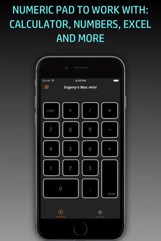 KeyPad & NumPad for Mac screenshot 1