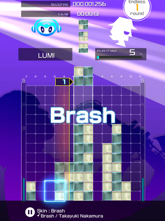 LUMINES PUZZLE & MUSIC Screenshots