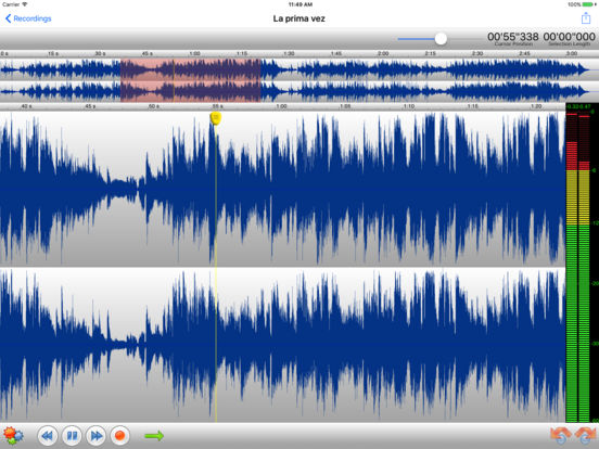 TwistedWave Recorder Screenshots