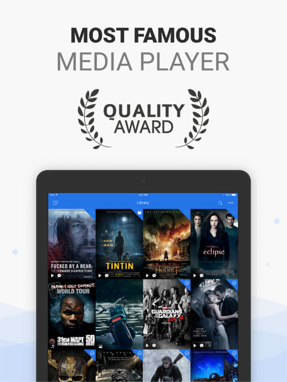 PlayerXtreme Media Player - Movies & streaming Screenshot