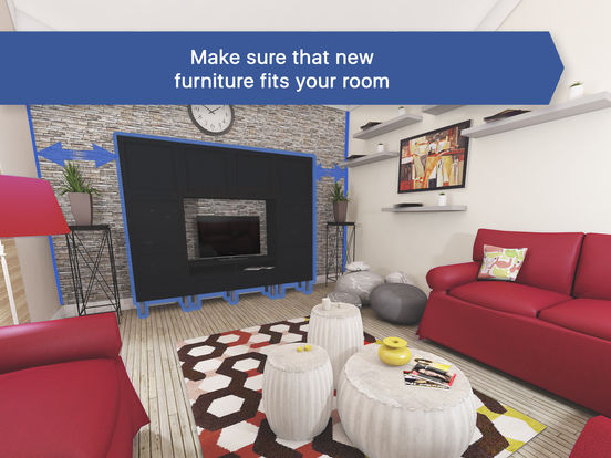 3D Living Room For IKEA Interior Design Planner On The App Store